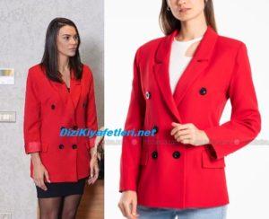 Yasak Elma Leyla kırmızı ceket markası