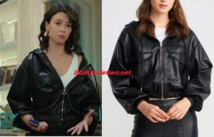 Yasak Elma Lila Deri ceket markası