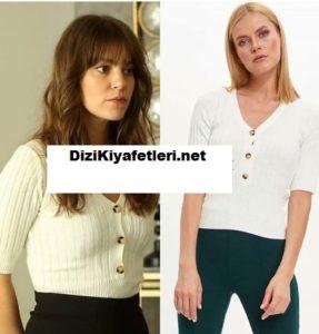 Babil Aslı Enver beyaz bluzu