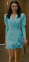 Yasak Elma Leyla mavi elbise