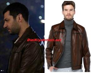 Murat Yıldırım deri ceket