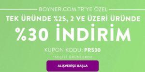 Boyner indirim kodu