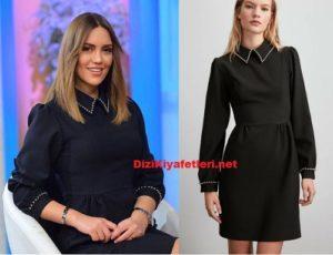 Gel Konusalım Eylem siyah elbisesi