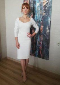Mucize Doktor Beliz beyaz elbisesi