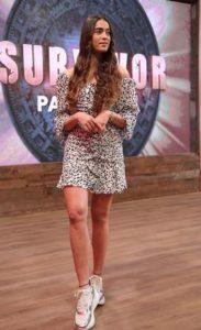 Survivor Panorama Melisa mini elbise markası