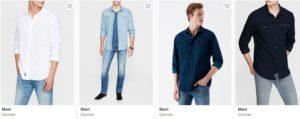 Mavi gömlek fırsatlari