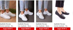 Modanisa ayakkabı cesitleri