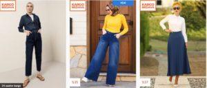 Modanisa etek ve pantolon modelleri