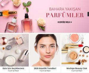 Morhipo kozmetik indirimli ürünler