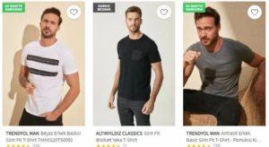Trendyol Erkek tisort ürünleri