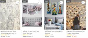 Trendyol dekorasyon ürünleri