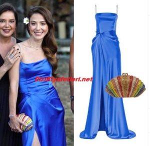 Bay Yanlış Ezgi mavi elbise markası