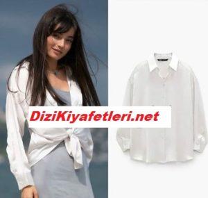 Arıza dizisi Ayşin turhan beyaz gömleği