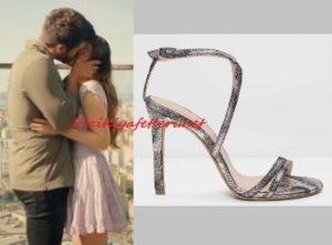 Özge Gürel topuklu ayakkabı