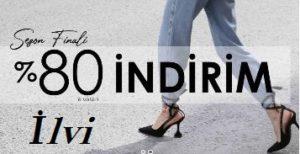 İlvi %80 İndirimli ayakkabılar