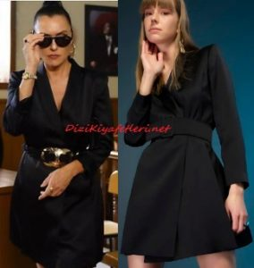 Şevval Sam siyah elbise