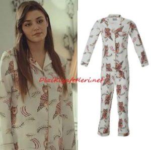 Hande Erçel pijama takımı