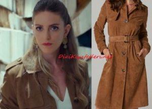Sen Çal Kapımı Selin kahverengi ceket