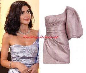 Yasak Elma Şahika lila elbise
