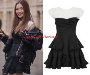 Danla Biliç siyah elbise