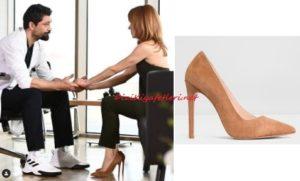 Muciz Doktor Beliz kahverengi topuklu ayakkabı