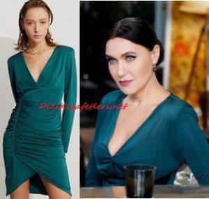 Şevval Sam yeşil elbise